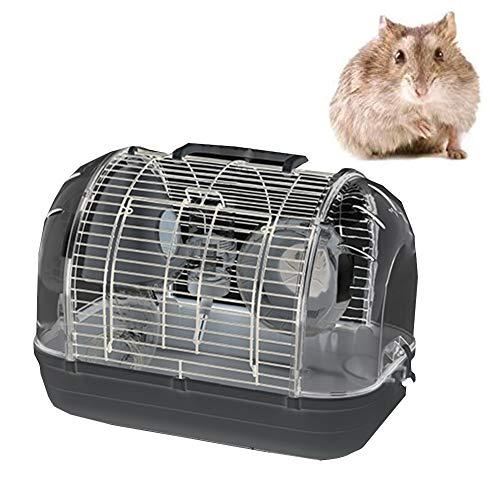 XXDYF Hamsterkäfig Plastik Zubehör Set, Tragbares Multifunktionales Reisen Käfige & Laufställe Für Kleintiere, Tierversteck Rattenvilla,A