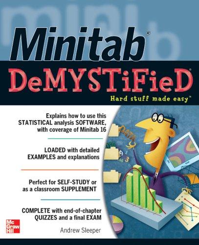 Minitab Demystified (English Edition)