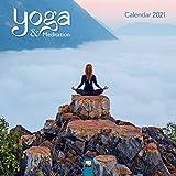 Yoga & Meditation Wall Calendar 2021 (Art Calendar)