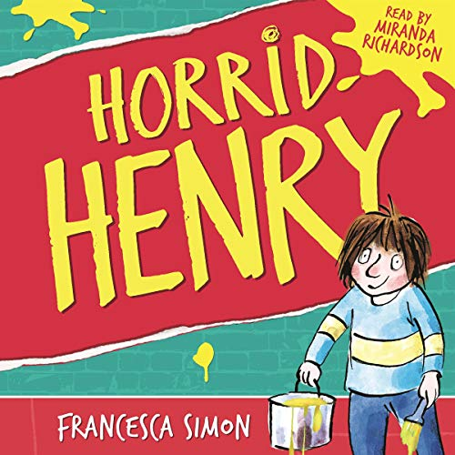 Horrid Henry audiobook cover art