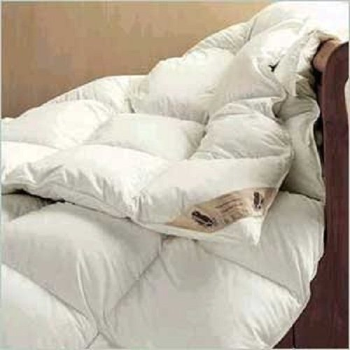Goose Feather And Down Duvet/Quilt, 7.5 Tog, Double Bed Size, Contains 40% Down, by Viceroybedding