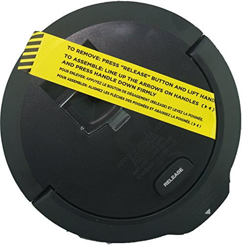Ninja Kitchen Systems 64 oz Processing Bowl Replacement Lid BL770 BL771 BL772 BL780