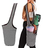 Entiforry Yoga Mat Bag with Large Size Pocket and Zipper Pocket, Yoga Mat Bag Carrier, Fit Most Size Mats Yoga, Yoga Bags and Carriers for Women