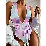 Hot Summer Bikinis De Una Pieza Traje De Baño Sexy Mujeres Push Up Multicolor Nuevo Traje De Baño Bikini Traje De Baño Estampado Ropa De Playa XL Bl