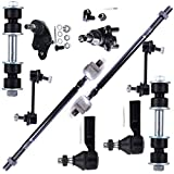 FEIPARTS Suspension Parts Ball Joint Tool Kit Inner Tie Rod Ends - Power Steering Lower Ball Joints Outer Tie Rod Ends Front Sway Bar Links Rear Sway Bar End Links 88 89 90 91 92 For Corolla