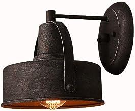 WSW Light Luxury Fashion Industrial Style Wrought Iron Wall Lamp Nostalgia Retro Creative Corridor Aisle Bedroom Bedside I...