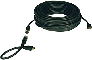 Tripp Lite Standard Speed HDMI Easy Pull Cable, 1080p, Digital Video with Audio (M/M), 50-ft. (P568-050-EZ) Black