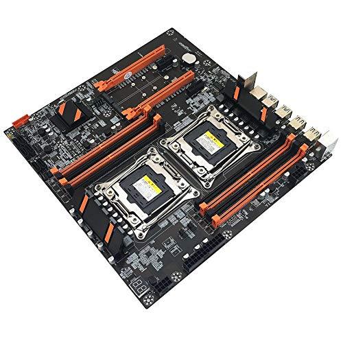 presentimer X99 Dual CPU Motherboard Placa de Circuito de computadora rápida Estable para Juegos Home Office