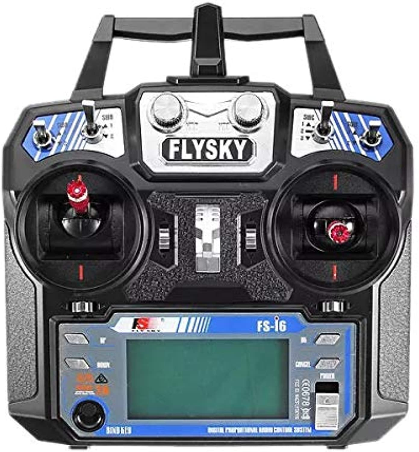 FlySky FSi6 2.4G 6CH AFHDS RC Radion Transmitter With FSiA6B Receiver for RC FPV Drone  Mode 2 (Left Hand Thredtle)
