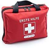 Erste-Hilfe-Tasche mit Sofort-Kältekompressen, Rettungsdecke und Pflastersortiment (103-teilig,...