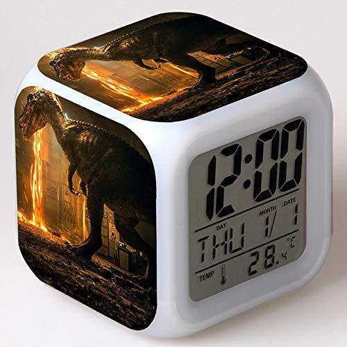 shiyueNB Film World Jouets Enfants Réveil LED Changement de Couleur Horloge Numérique Bureau Nuit Réveil Lumière Brillant