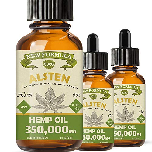 350,000MG Hemp Oil - 3 Pack Hemp Oil Drops