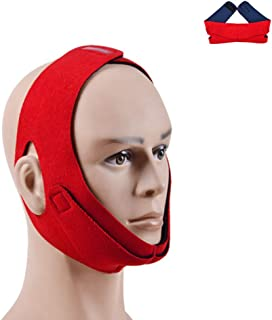 Chin Strap for Cpap Users, Comfortable Soft Anti Snoring Devices Cpap Chin Strap for Snoring Stop Snoring Solution Anti Snoring Chin Strap Snore Strips Snore Stop Anti Snore Stopper for Men and Women