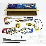 Zhou-YuXiang RC EPP Micro Indoor 3D F3P Aereo Sakura Aereo Elettrico radiocomandato 420mm...