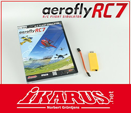aerofly RC7 Ultimate DVD mit USB-Interface für Grp. HoTT
