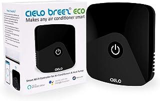 Cielo Breez Eco ، کنترل از راه دور کولر گازی هوشمند   کنترلر هوشمند AC و مانیتور دماسنج WiFi - دو در یک   Amazon Alexa، Google Home، iOS، Android و Web سازگار   A / C شما را هوشمند می کند