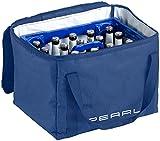 PEARL Thermobox Bierkasten: Isolierte Kühltasche, verstärkter Trageriemen für Bierkästen, 30 Liter (Kühltasche Bier)