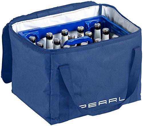 PEARL Kühltasche Bier: Isolierte Kühltasche, verstärkter Trageriemen für Bierkästen, 30 Liter (Thermobox Bierkasten)