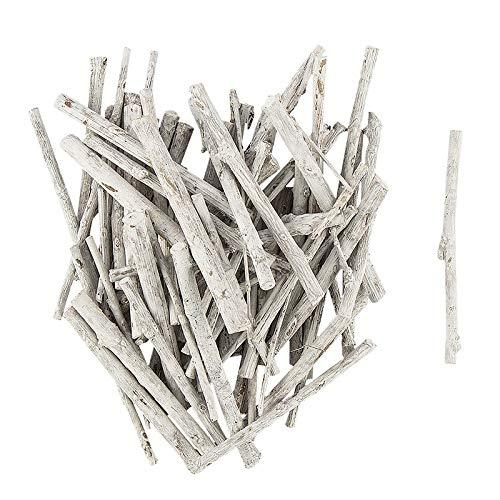 Wald-Deko | Äste aus Holz | Holz-Äste | 6,5 cm bzw. 7,5 cm Länge | Beutel mit 30 g Inhalt