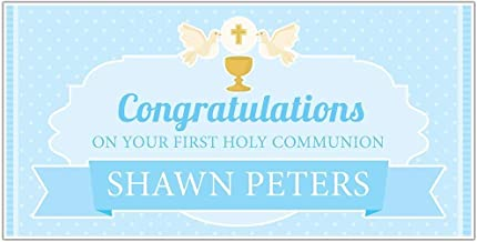 First Holy Communion Personalized Banner