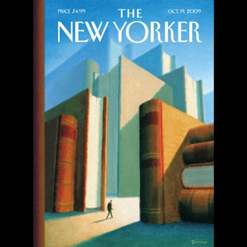 The New Yorker, October 19, 2009 (William Finnegan, Malcolm Gladwell, Lizzie Widdicombe) cover art