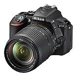 Nikon D5500 - Cámara réflex de 24.2 MP (Pantalla LCD táctil giratoria de 3.2', vídeo Full HD 1080/60p, WiFi, filtros y Efectos, HDR), Rojo - Kit con Objetivo Nikkor AF-S DX 18-140 mm VR