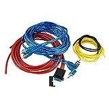 Auto Car Amplificador de Potencia de Audio Cable Cable Set de 4 piezas