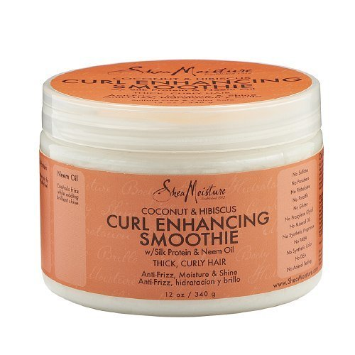 SheaMoisture Coconut & Hibiscus Curl Enhancing Smoothie 12 Ounces (Pack of 6) by Shea Moisture