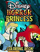 Horror Princess Coloring Book: Color your favorite princesses in horror style