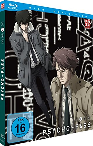 Psycho-Pass - Staffel 1 - Vol.2 - [Blu-ray]