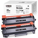 2 LEMERO SUPERX Toner |con Chip| Compatible para Brother TN-2420 TN2420 TN-2410 para HL-L2310D HL-L2350DN HL-L2370DN HL-L2375DW MFC-L2710DN MFC-L2710DW MFC-L2730DW MFC-L2750DW DCP-L2510D DCP-L2530DW