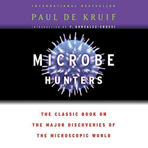 Microbe Hunters audiobook cover art