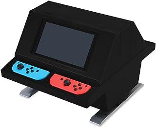 (Switch用) 対面型アーケードスタンド (ブラック) - Switch