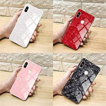 Wallet cases Case for Xiaomi Redmi Note 5 Pro/Redmi 5 Plus/Redmi 5 Mirror Back Cover Solid Colored Hard Tempered Glass for Xiaomi Redmi Note 5 Pro/Xiaomi Redmi 5 Plus/Xiaomi Redmi 5
