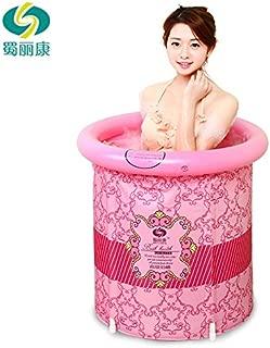 Heavy Duty Adult Size Folding Bathtub, Inflatable Bathtub, Portable Bathtub, Plastic Bathtub,Spa Bathtub, Massage Bathtub, Folding Bath Bucket, Bath Bucket