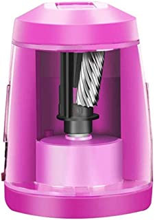 WSJTT Electric Pencil Sharpener, Easy to Carry Auto & Safety Features Electric Pencil Sharpener, Heavy Duty Helical Blade ...