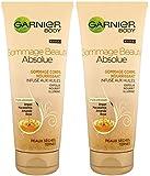 Garnier Fructis Skin Nat Body Tonic Gel Scrub T200ml FR - Producto, Paqute de 2