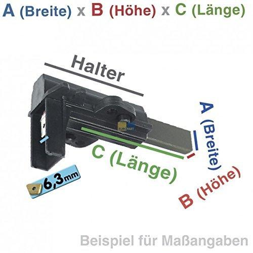 Kohlebürsten mit Halter für Waschmaschine AEG 899645425577 Bosch Siemens 167517