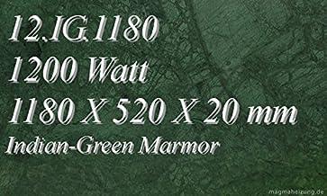 Calefacción por infrarrojos–Calefactor de infrarrojos eléctrico (mármol Magma Calefacción 1200W 12. IG.1180