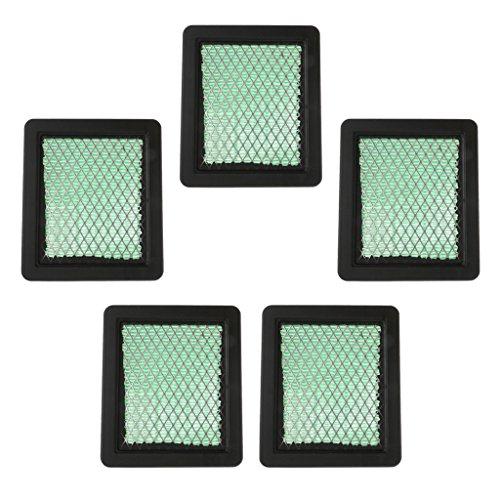 Sharplace Filtres à Air pour Tondeuse à Gazon pour Honda GCV135 GC160 GCV160 GCV190 Moteur - Couleur #5pcs