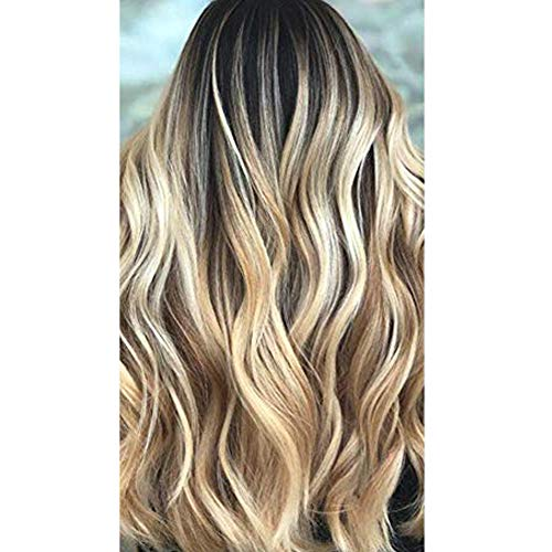 Moresoo 14inch Tape in Extensions Remy Human Hair Color #2 Brown Fading to Blonde #27 Mixed #613 Bleach Blonde 20pcs 50g Per Pack Seamless Tape in Human Hair Extensions