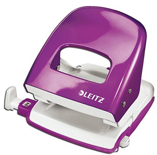 Leitz 5008 NeXXt Series Bürolocher, Metall, bis zu 30 Blatt (violett)