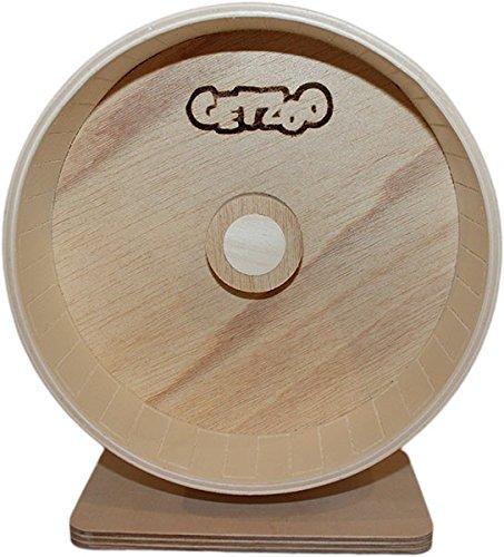 Getzoo Ø 21 cm Premium Holzlaufrad (Ø 19,8 cm Innen, Höhe 22-30cm)