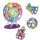 Innoo Tech Blocs de Construction Magnétiques - Jeux Construction d'exploration Aimanté | Enfants Jouets Jeux pour Garçons Enfants Cadeaux d'anniversaire (Blocs de Construction)