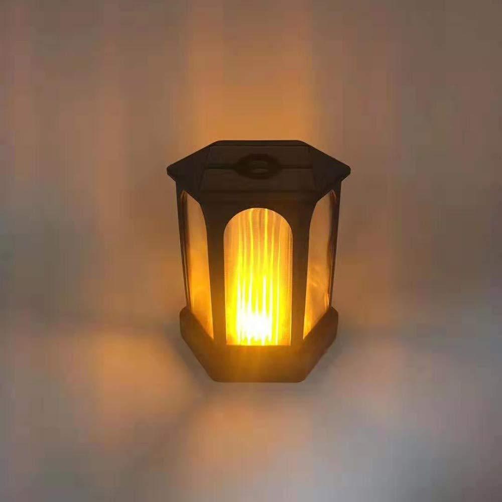 Lámpara solar para jardín,YChoice365 LED Luz de la antorcha solar IP65 Luz de Llama Jardin Solares Exterior Luces de decoración con energía solar Luces para caminos de jardín: Amazon.es: Iluminación