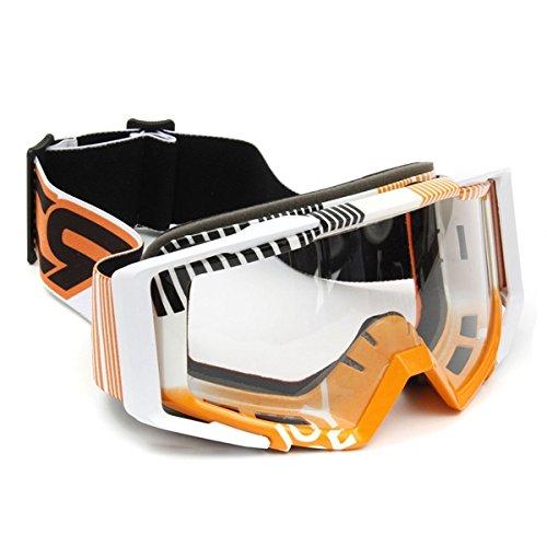 Alamor Motocross Gafas De Casco Deportes Esquí A Prueba De Viento Anteojos para Moto De Coche Todoterreno SUV