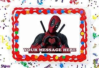 Best deadpool birthday cake Reviews