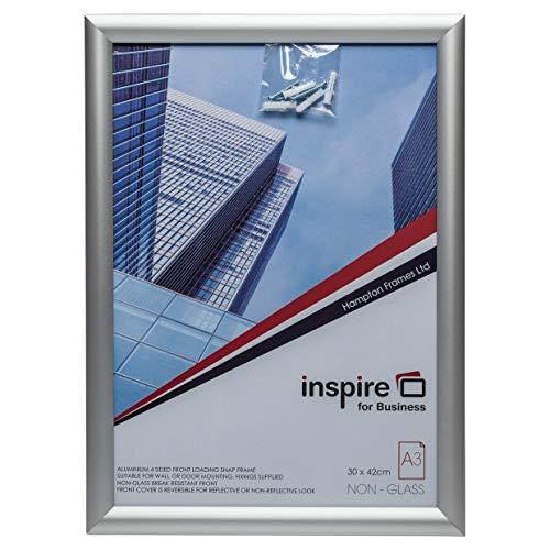 The Photo Album Company SNAPA3S A3 Inspire for Business Aluminium Snap Frame