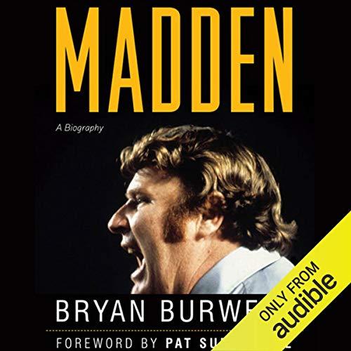 Madden audiobook cover art