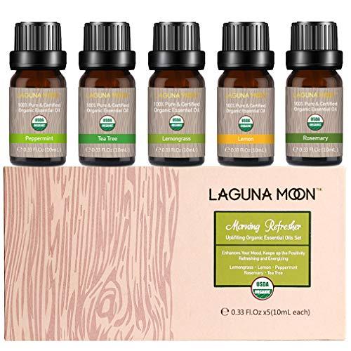 Lagunamoon Essential Oils Top 5 USDA Certified Organic Essential Oil